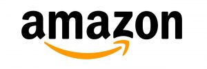 amazon's logo with orange smile underneath