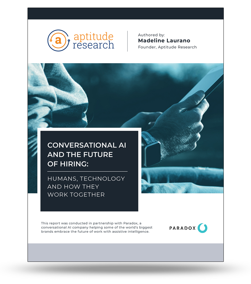 Conversational AI and the Future of Hiring: Humans, Technology and How They Work Together