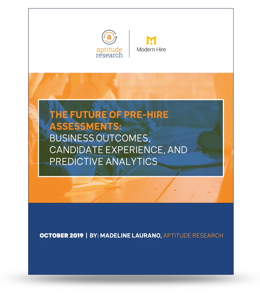 The Future of Pre-hire Assessments
